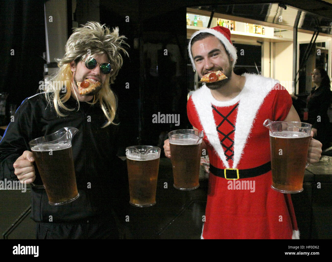 Dressed-up darts fans with giant beer mugs enjoying themselves at Alexandra Palace in London United Kingdom 16 December 2016. Every year in December ...  sc 1 st  Alamy & London UK. 16th Dec 2016. Dressed-up darts fans with giant beer ...