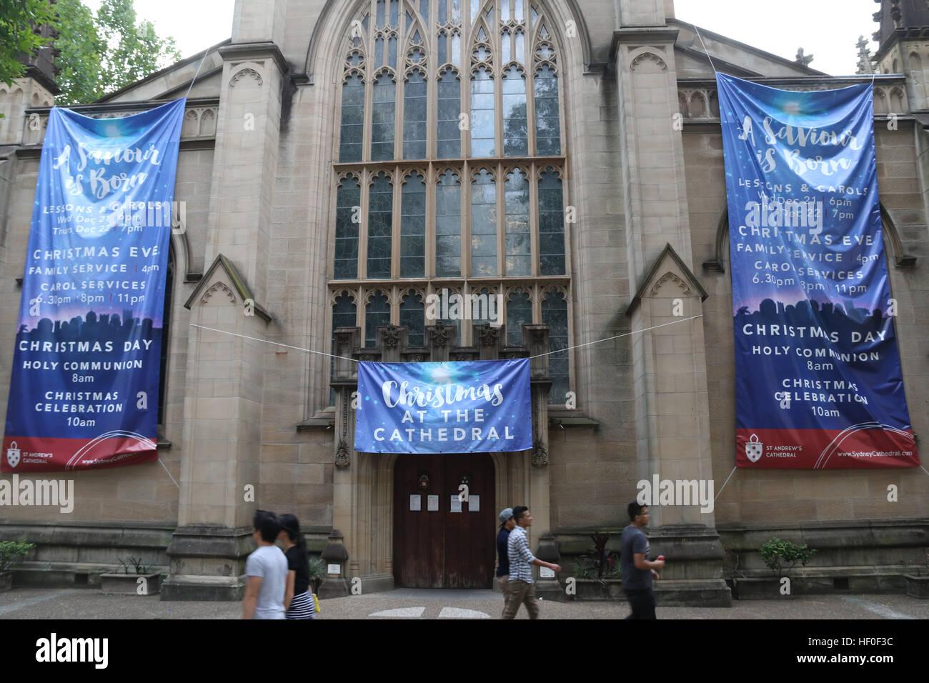 Sydney Australia  St Andrews Cathedral Promotes Its Hf0f3c Jpg