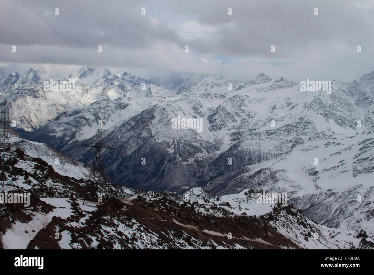 Nov 3, 2016 - The Kabardino-Balkar Republic, Russia - Mount Elbrus ...