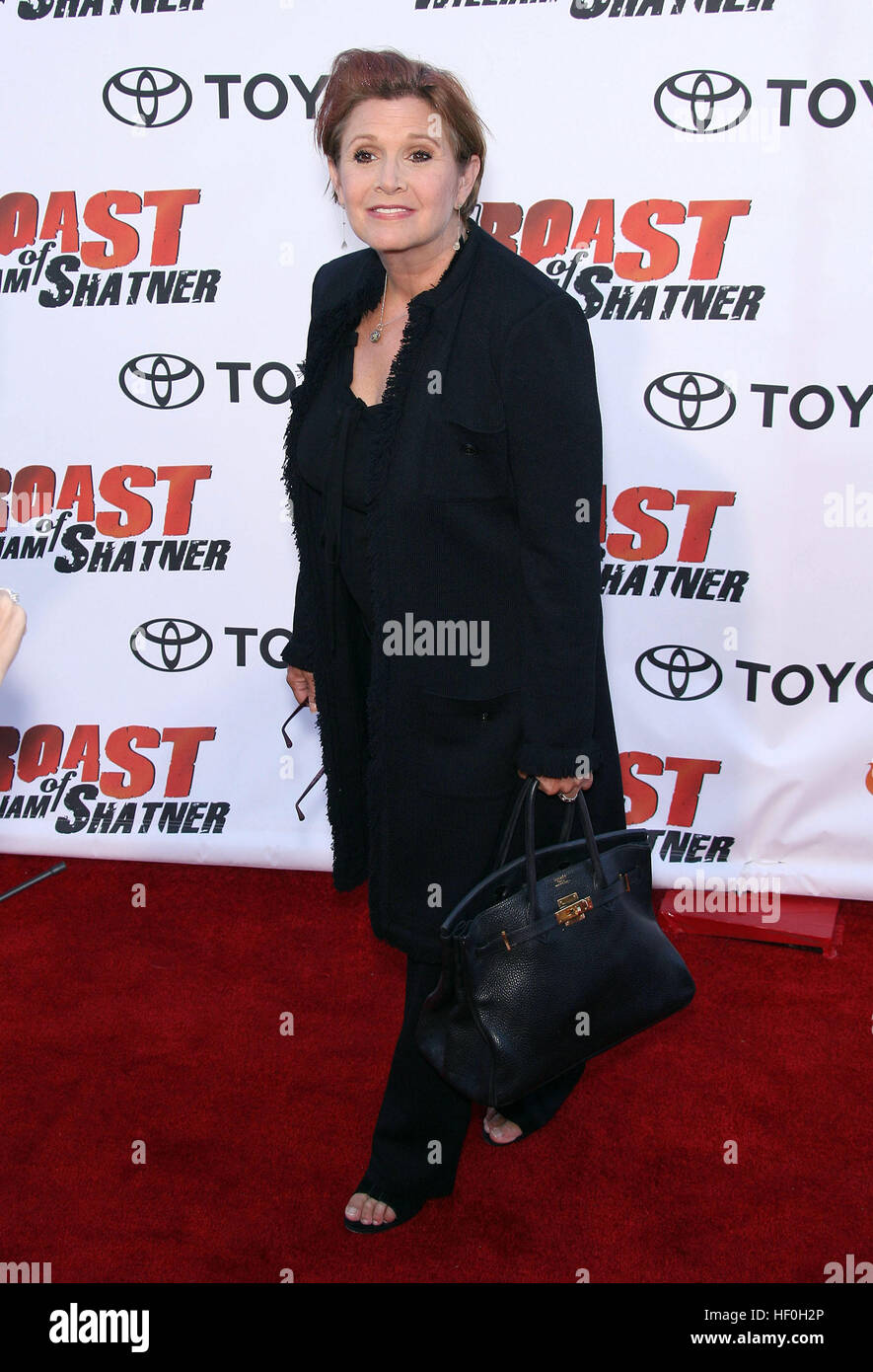 FILE PIC: Studio City, California, USA. 13th Aug, 2006. 27 December 2016 - Carrie Fisher, the iconic actress who - Stock Image
