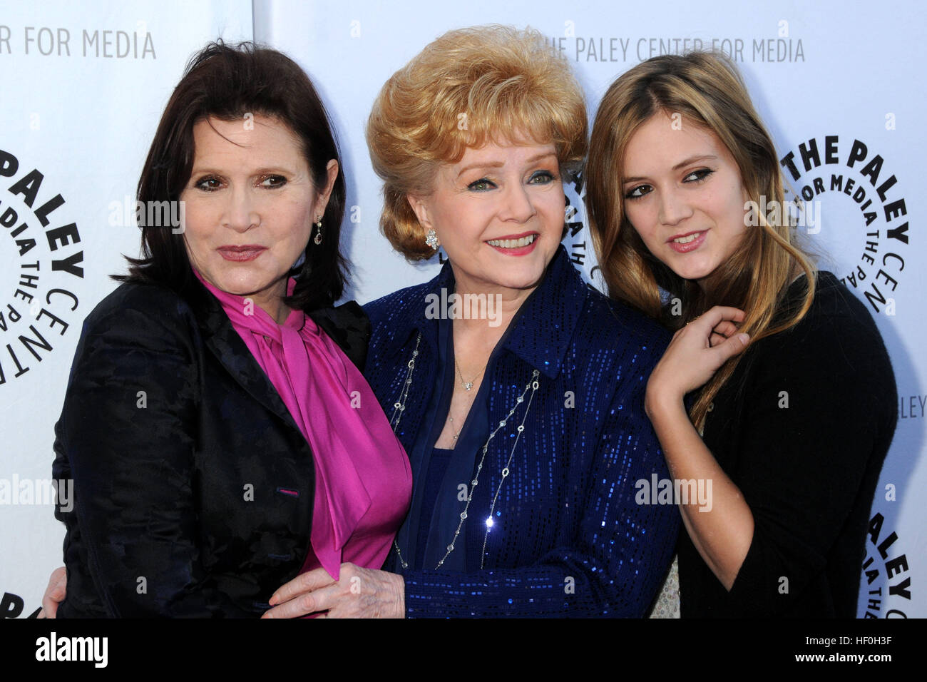 FILE PIC: Beverly Hills, CA, USA. 7th June, 2011. 27 December 2016 - Carrie Fisher, the iconic actress who portrayed - Stock Image