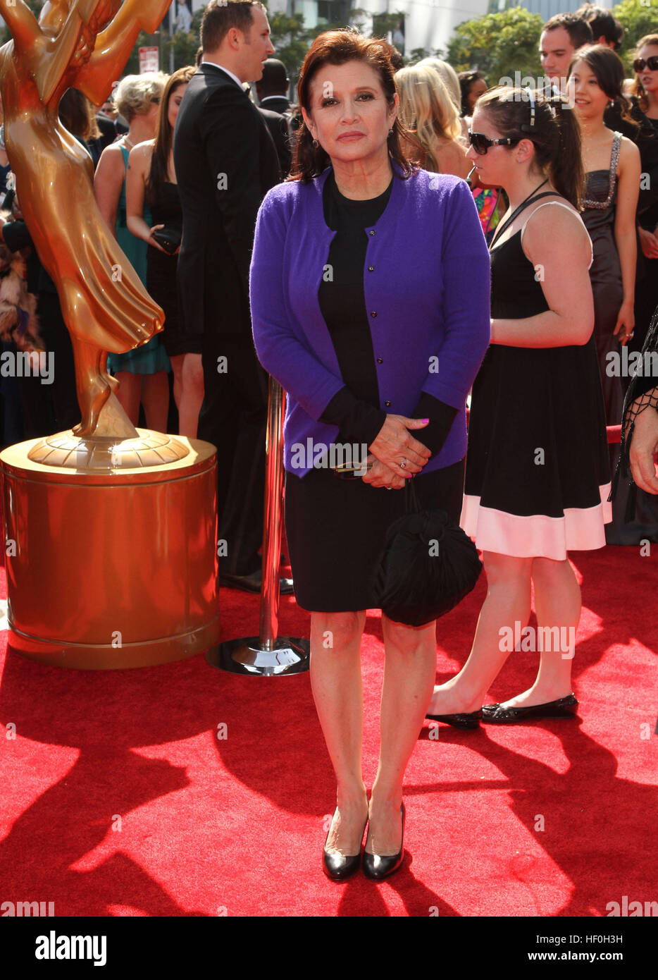 FILE PIC: Los Angeles, CA, USA. 10th Sep, 2011. 27 December 2016 - Carrie Fisher, the iconic actress who portrayed - Stock Image
