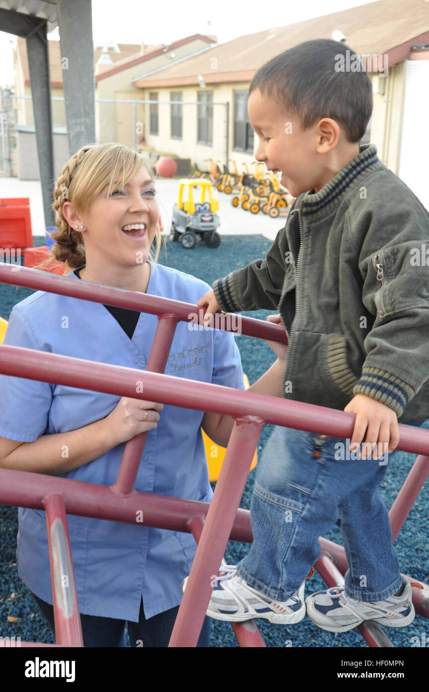 Joanna Droegemeier A Child Care And Development Specialist At The Stock Photo Alamy