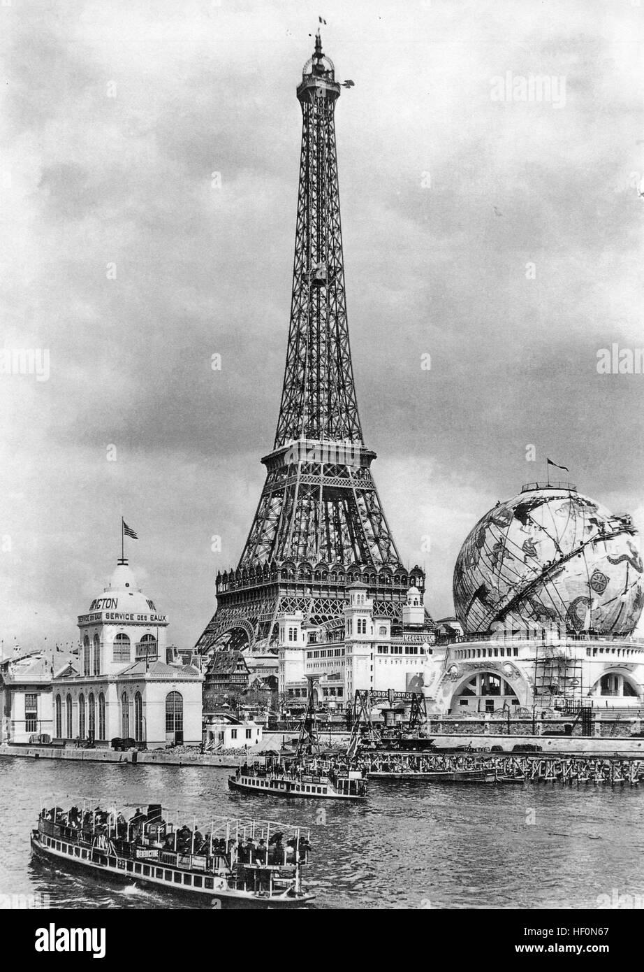 1900 WORLD'S FAIR, Paris. - Stock Image