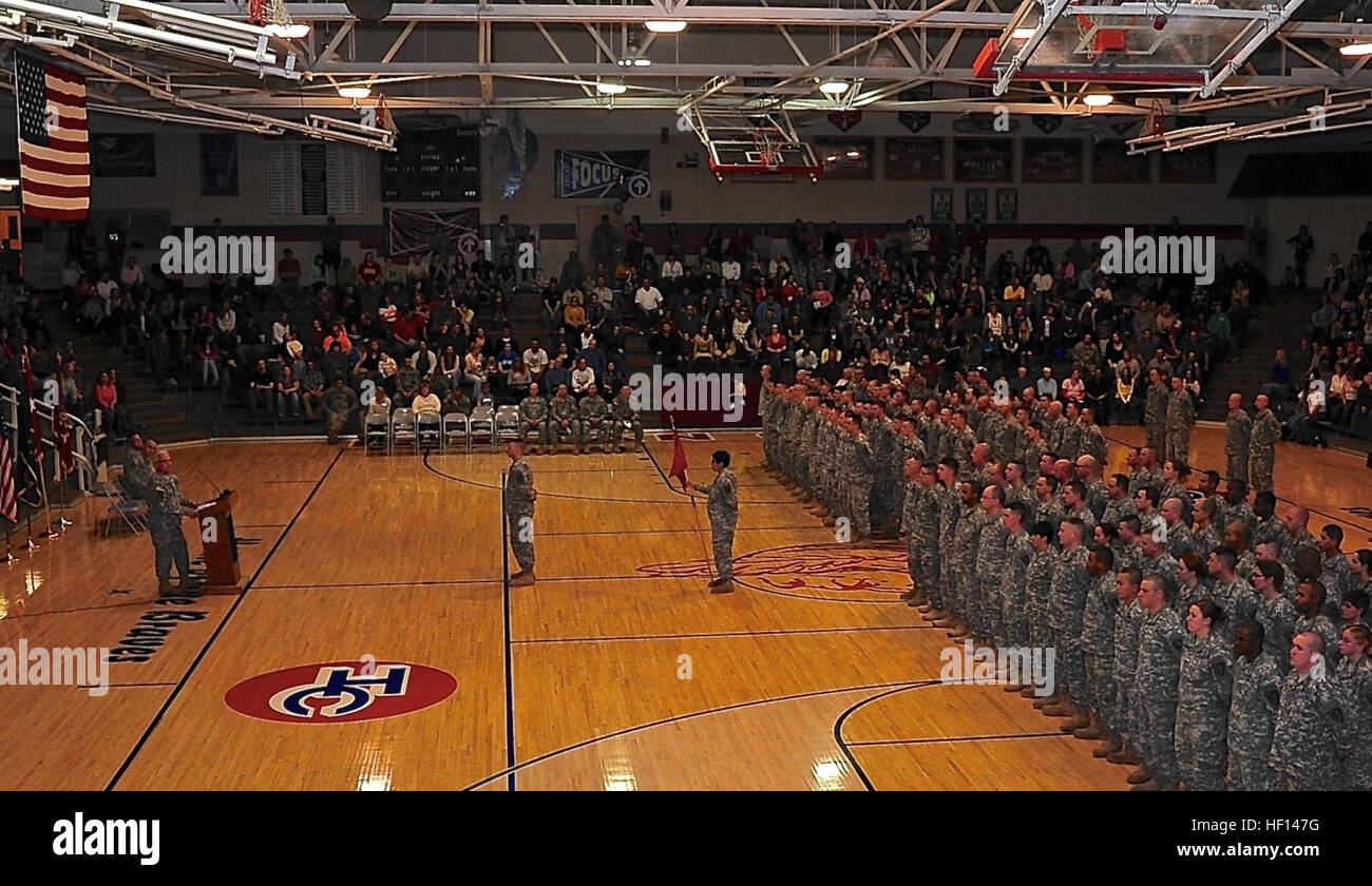 Indiana National Guard Soldiers The 1438th Transportation Company Stock Photo Alamy
