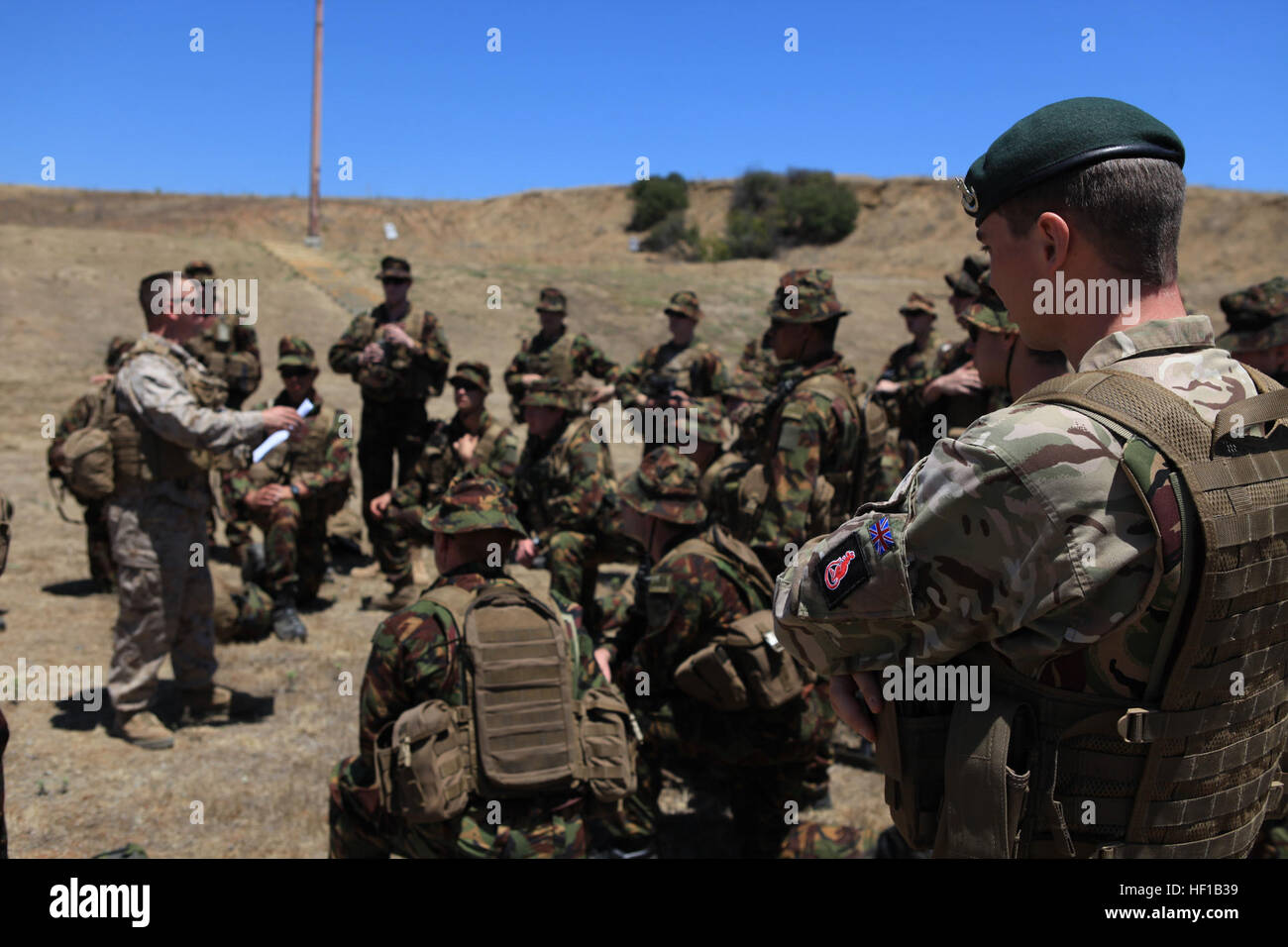 U.S. Marines from Charlie Comp...