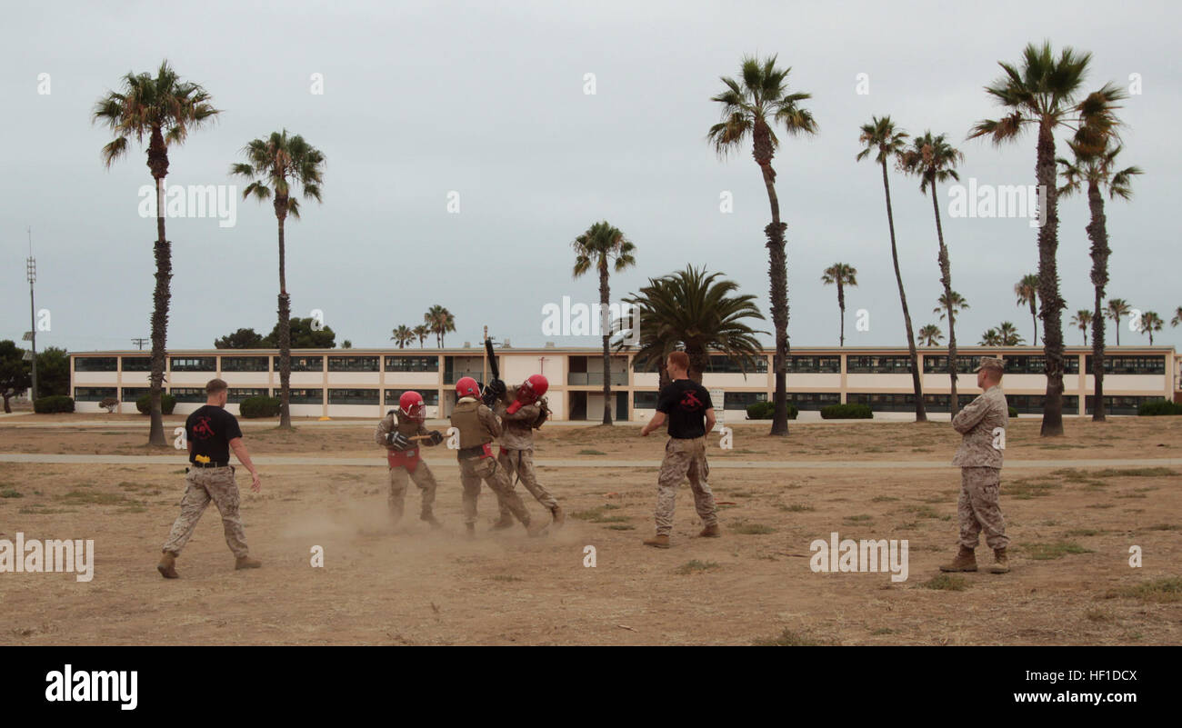 MARINE CORPS BASE CAMP PENDLETON, Calif  – Students of the Martial