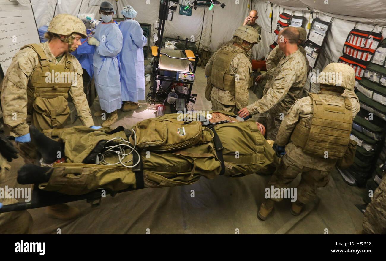 u s marines and sailors of 1st medical battalion 1st marine stock