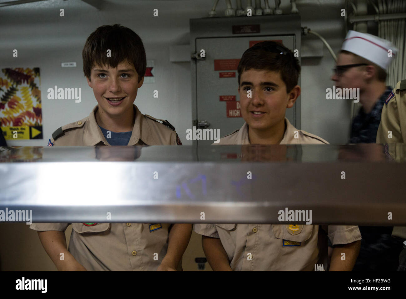 U S  Navy Sea Cadets, Boy Scouts of America, and the Junior