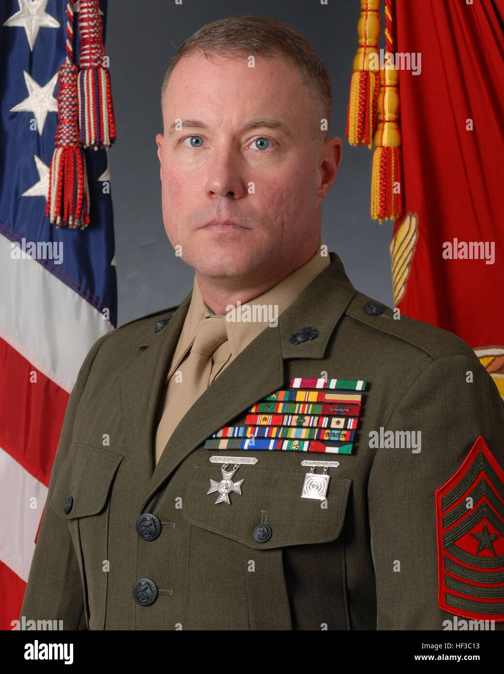 Sgt. Maj. Michael C. Daley, the previous Marine Transport ...