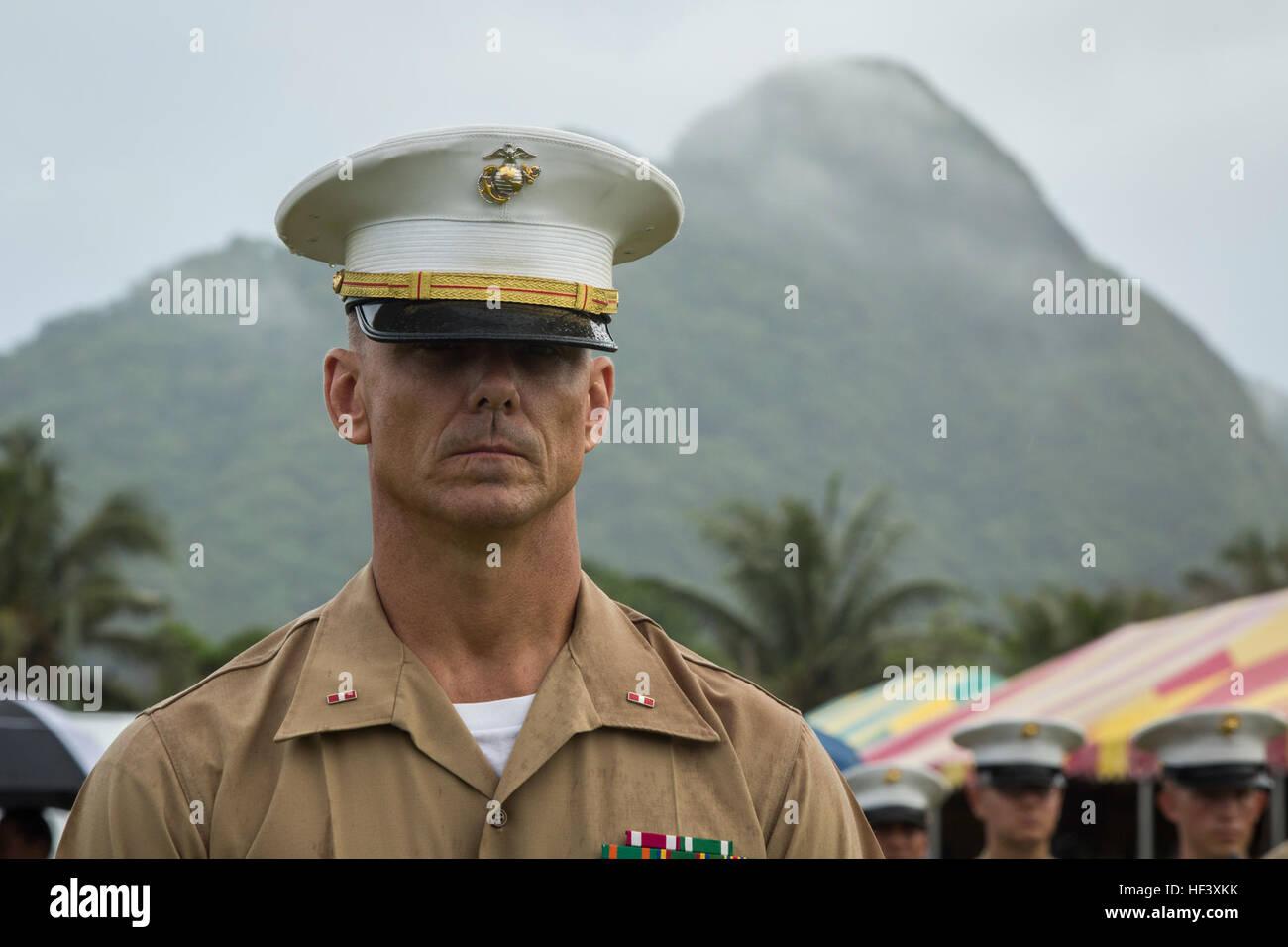 U.S. Marine Chief Warrant Officer 3 Brian Sherlock, band ...