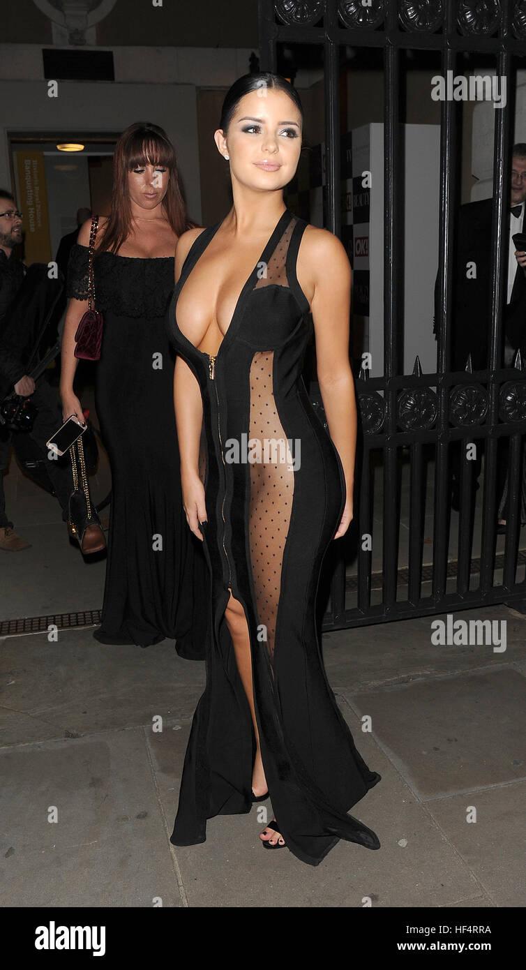 see through Celebrites Demi Rose naked photo 2017