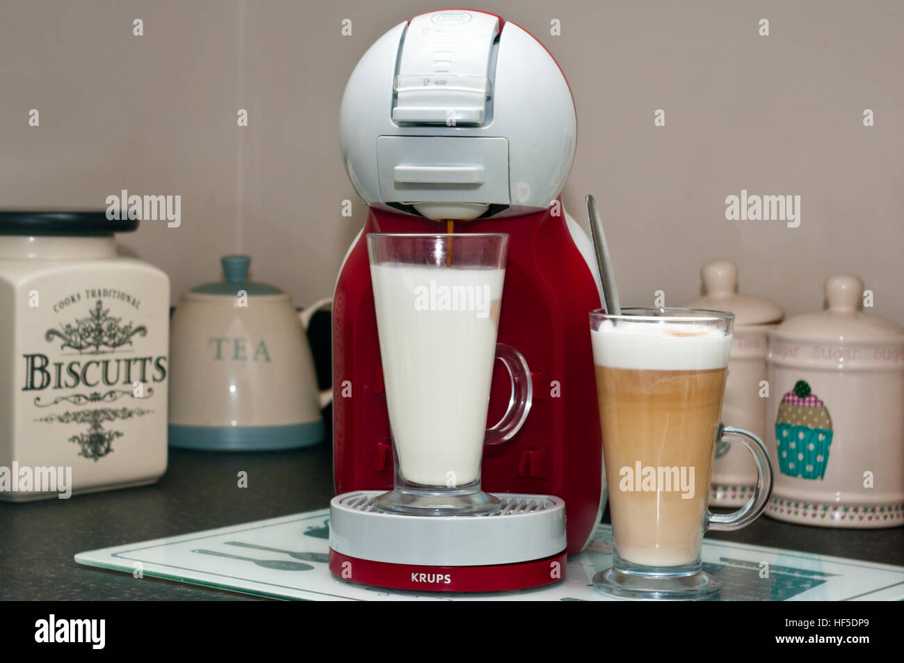 Nescafe Dolce Gusto Coffee Maker - Stock Image