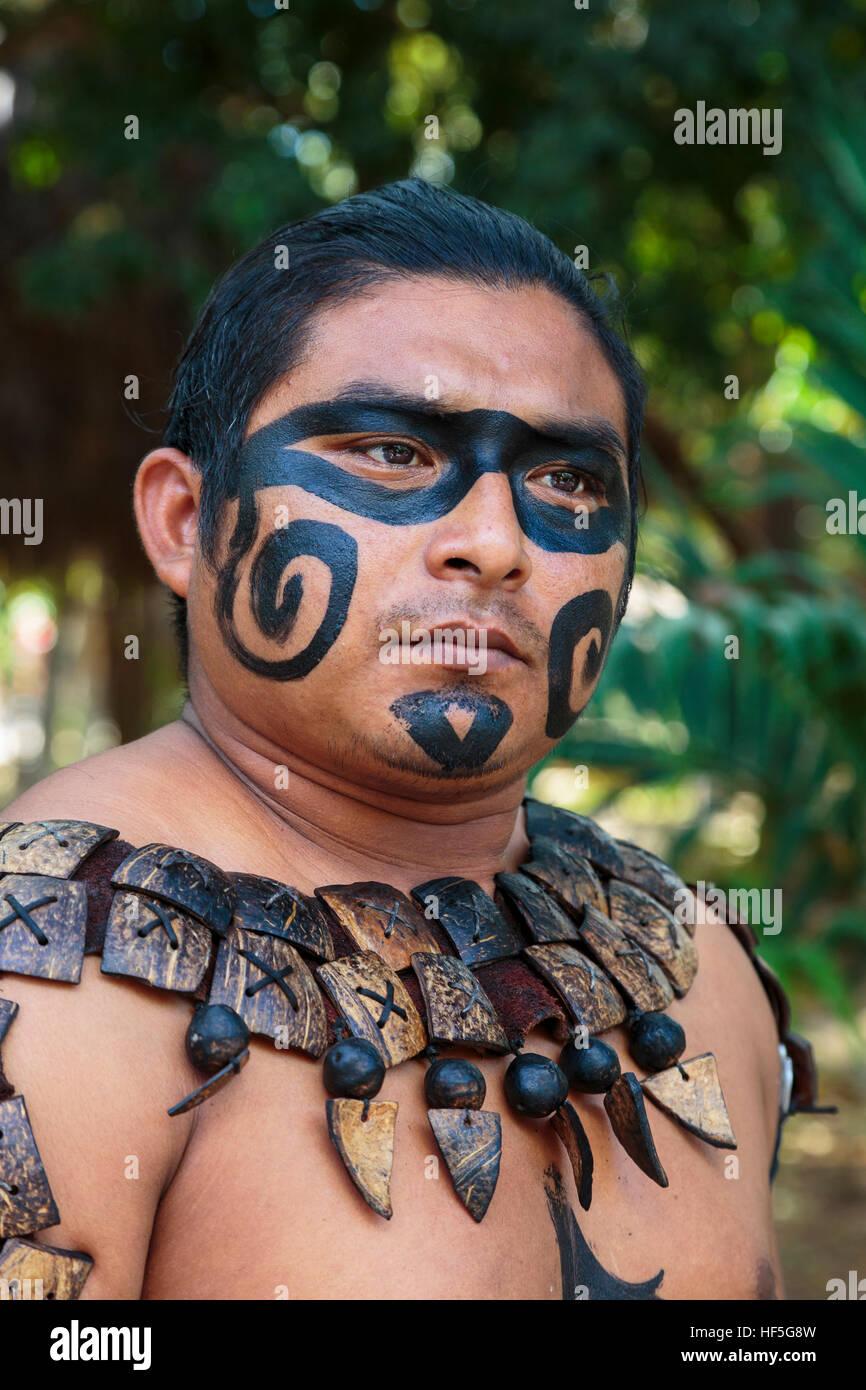 Aztec Face Paint History