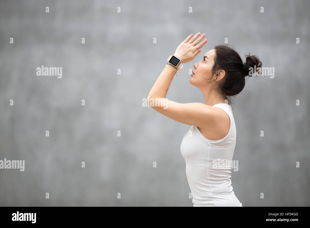 Beautiful Ashtanga Vinyasa Yoga - Stock Image