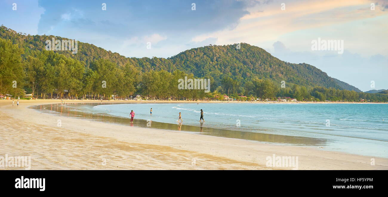 Beach at Koh Lanta Island, Thailand - Stock Image