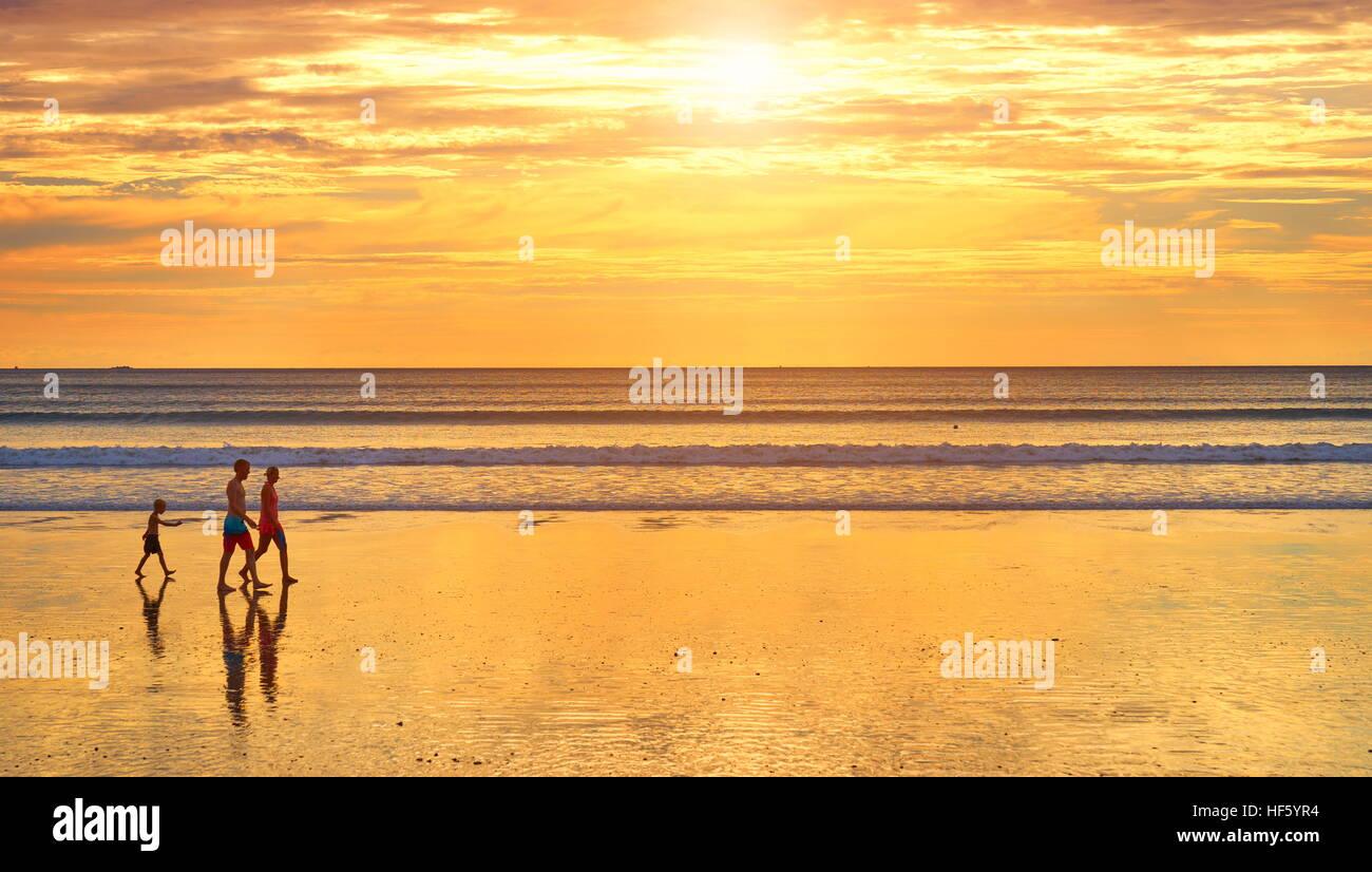 Beach at Koh Lanta Island, Thailand - Stock Image