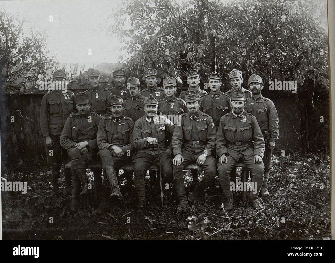 Gruppe von dekorierten Unteroffizieren und Mannschaften Infanterieregiment No.1. 15654469) - Stock Image