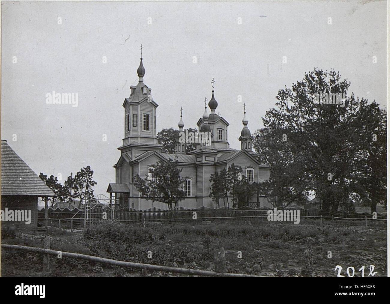 22. Korpskommando. Russische Kirche in Karasin 15694377) - Stock Image