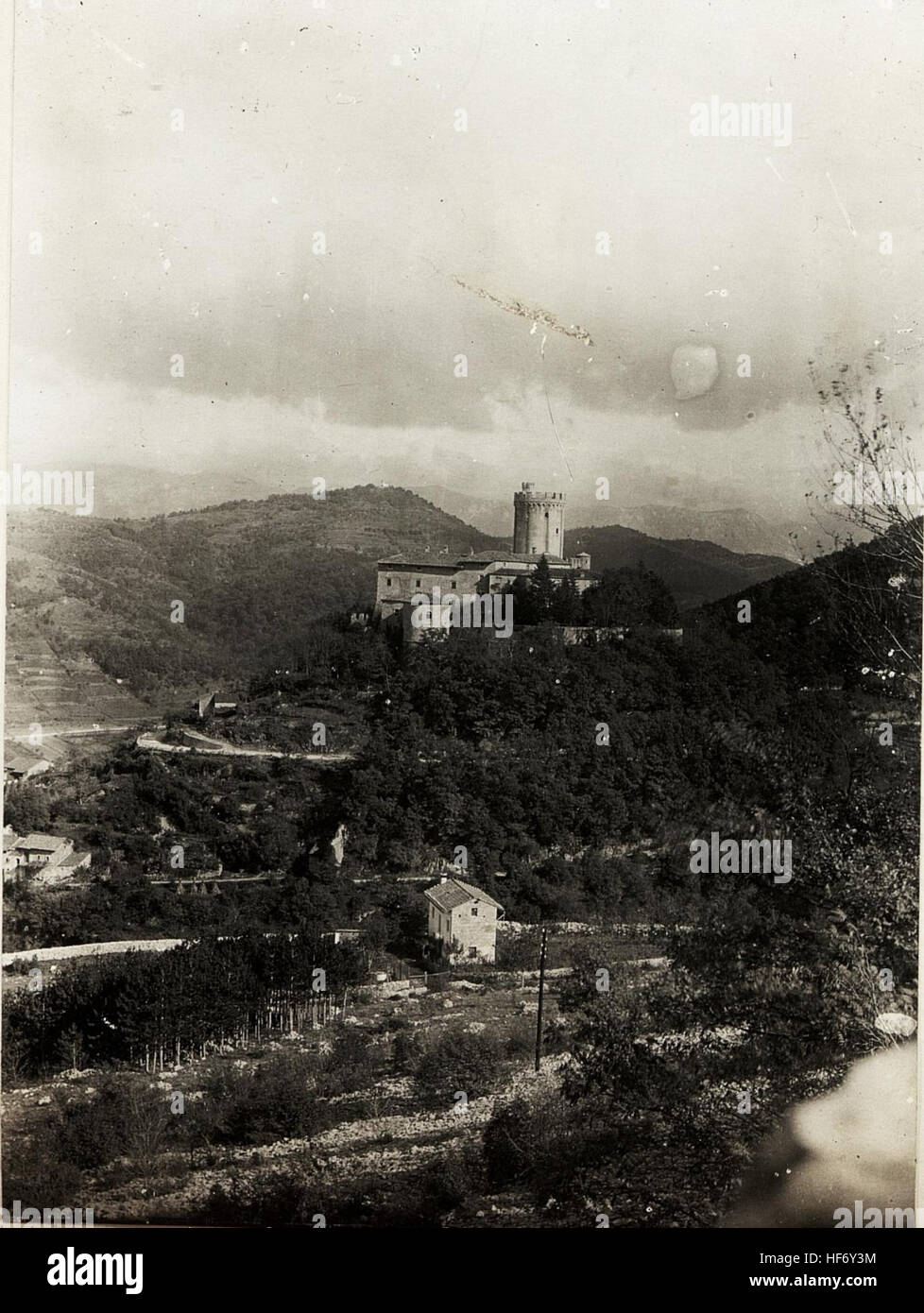 Schloss Reifenberg, Oktober 1915. 15594453) Stock Photo