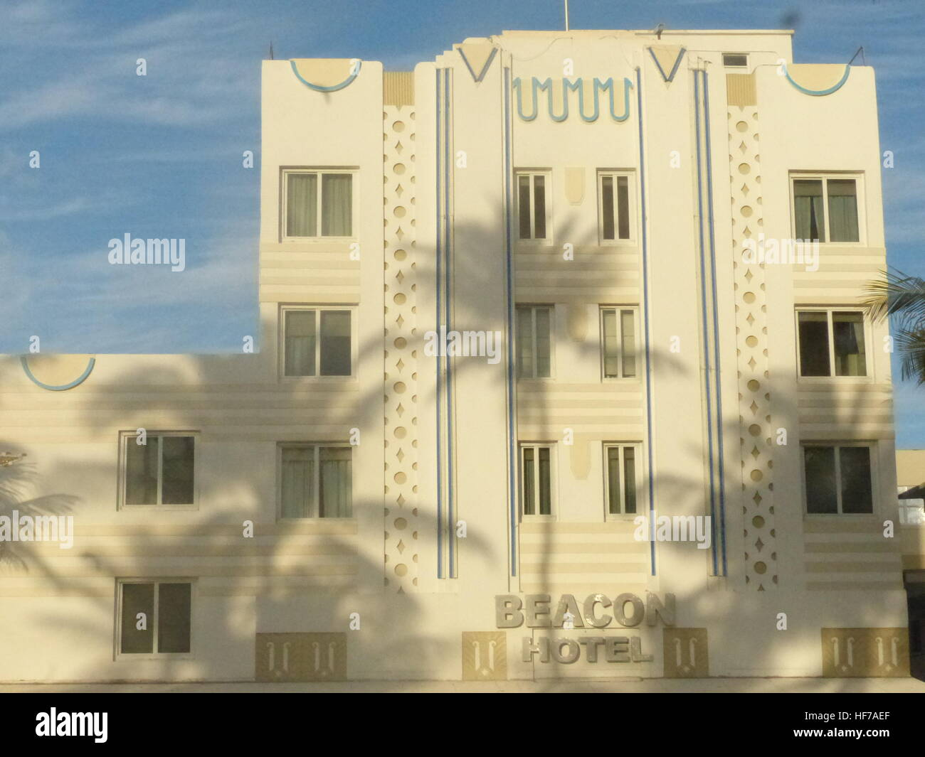 Florida, Miami Beach, Art Deco District, Art Deco Architecture, UNESCO World Heritage Site, popular destination, - Stock Image
