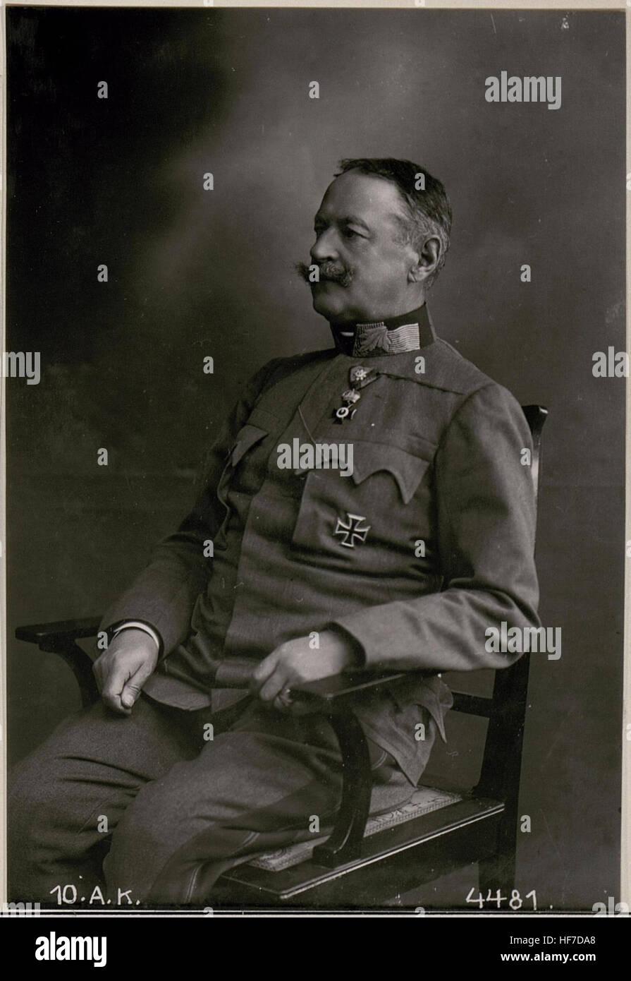 Exzellenz Feldmarschall Krobatin 15731303) - Stock Image