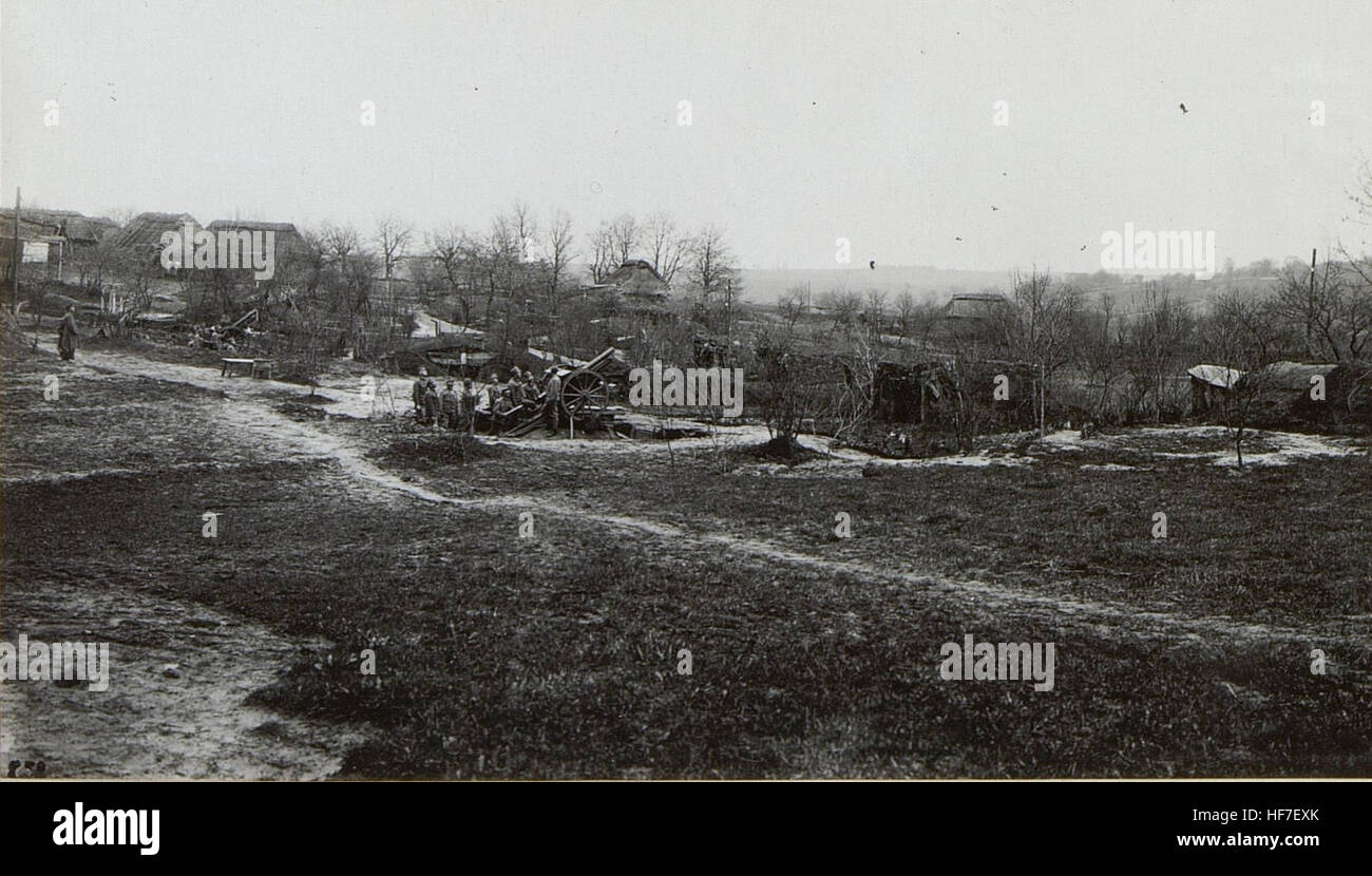 8cm M.05. Feld-Kanonen-Zug 15722660) Stock Photo
