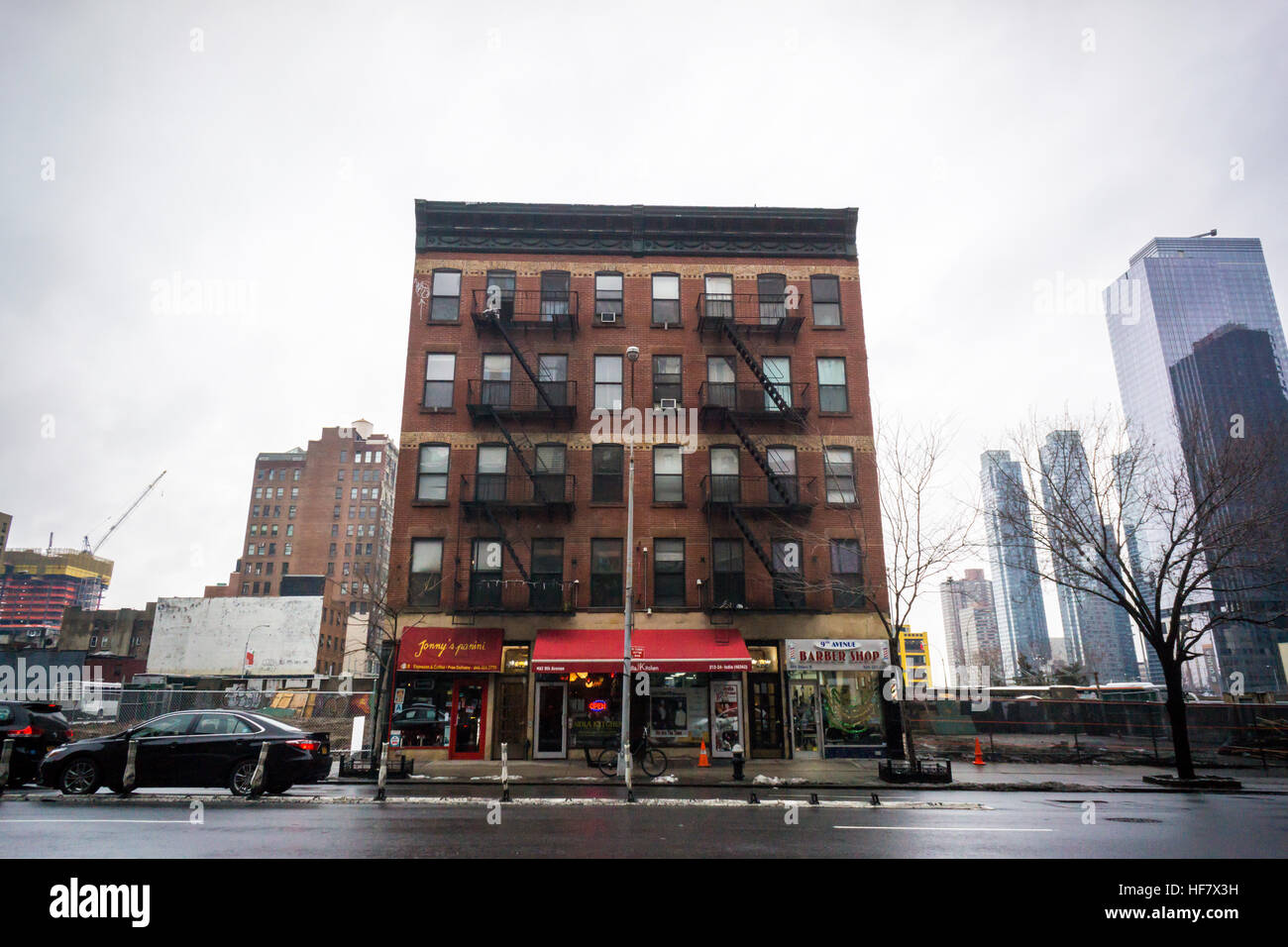 a hold out tenement on ninth avenue in the hells kitchen neighborhood in new york on sunday december 18 2016 richard b levine - Hells Kitchen Neighborhood