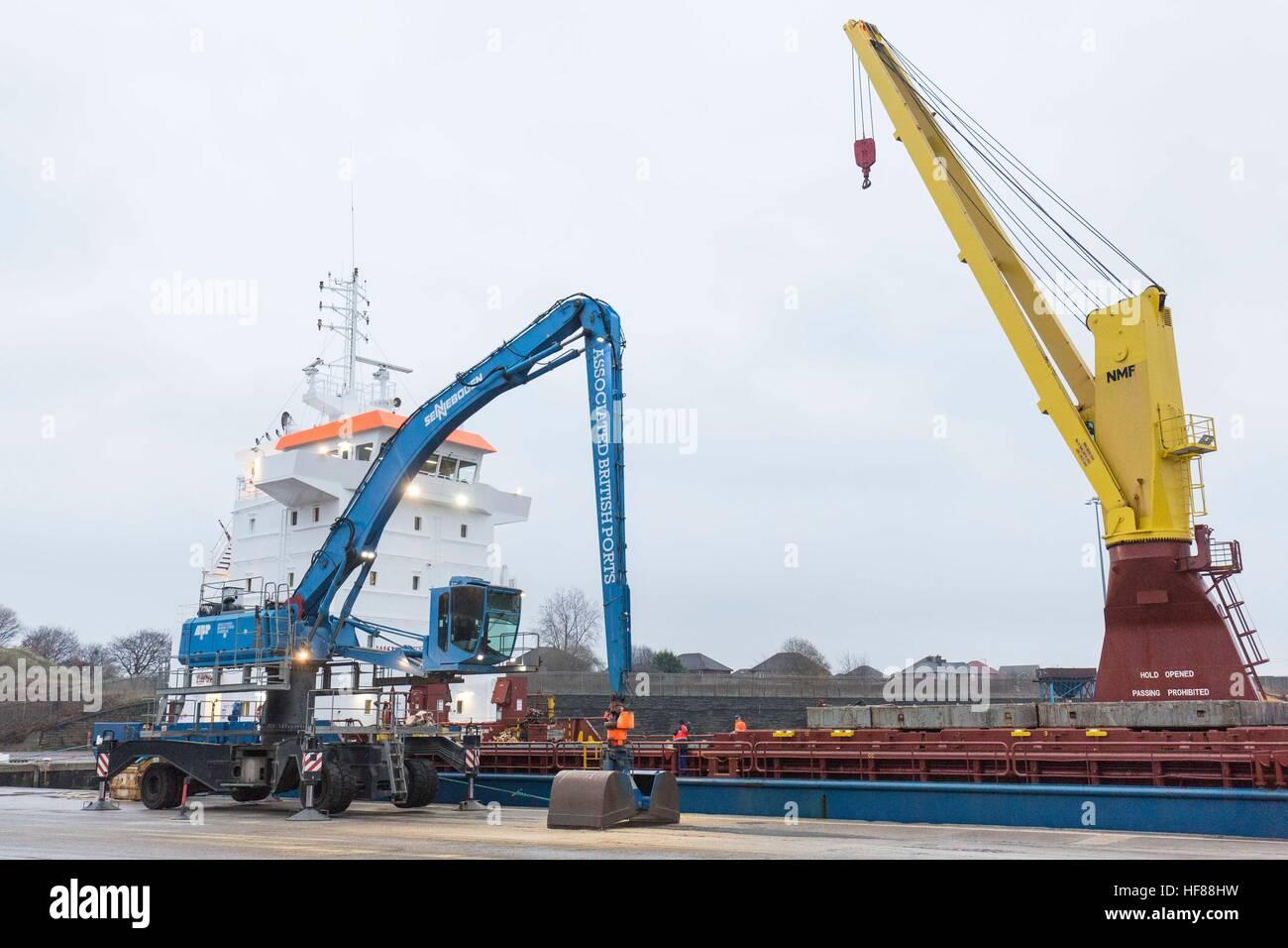 Associated British Ports - ABP Garston , Merseyside - Stock Image