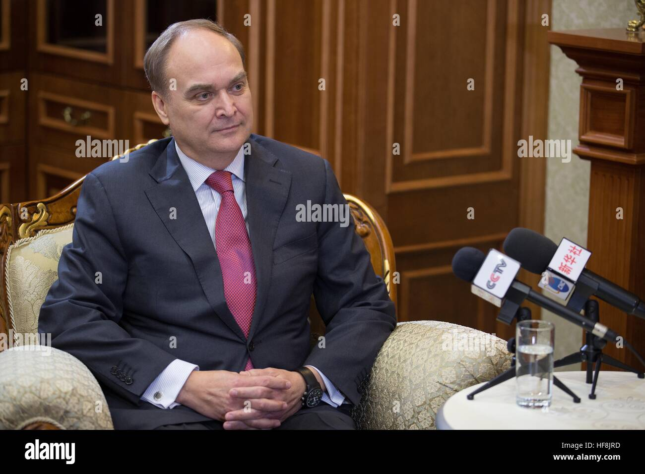 Yuriy Antonov was congratulated by Medvedev and Putin on 02/19/2015