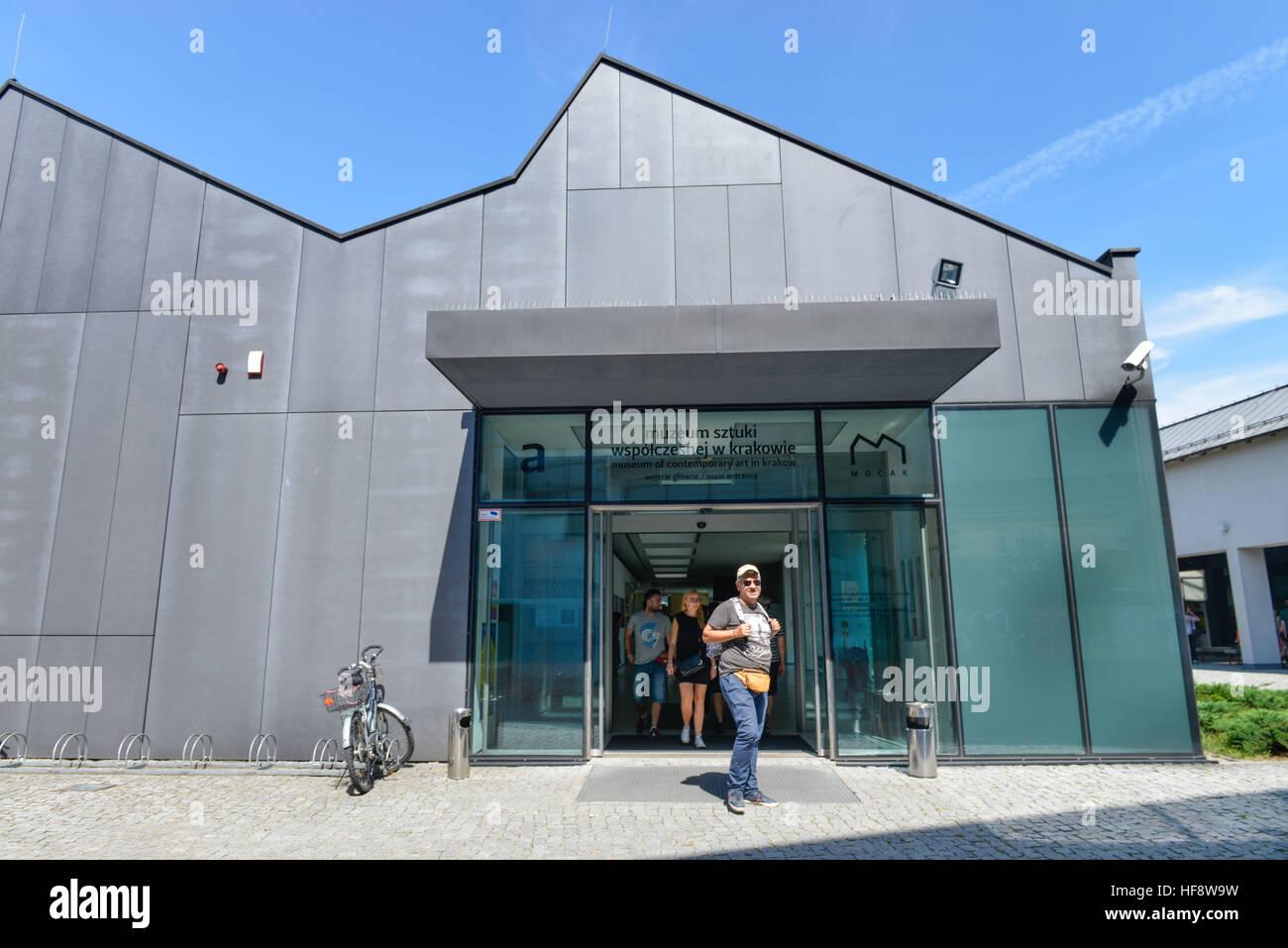 MOCAK, Museum, Lipowa, Krakau, Polen, museum, Cracow, Poland - Stock Image