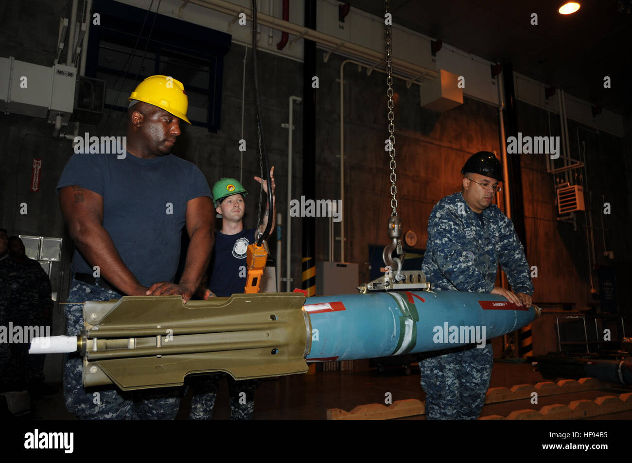 Sailors Assigned To Navy Munitions Command East Asia Division (NMC EAD)  Unit Misawa Move
