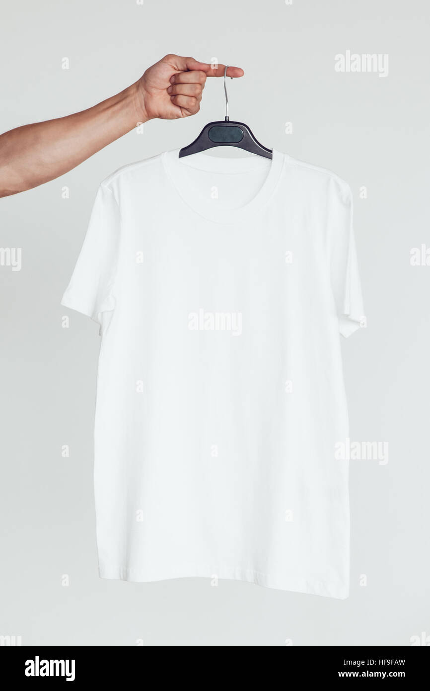Blank Tee Shirt Template Design