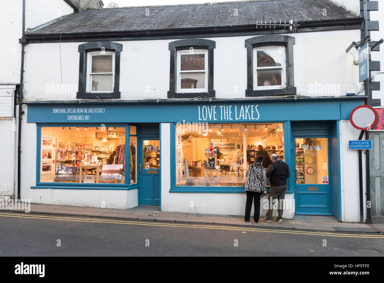Love the Lakes gift shop in Keswick the Lake District