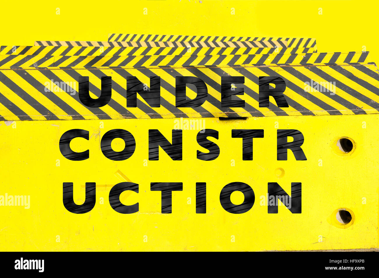 Under Construction Web Page Or Website Banner Stock Photo 129910995