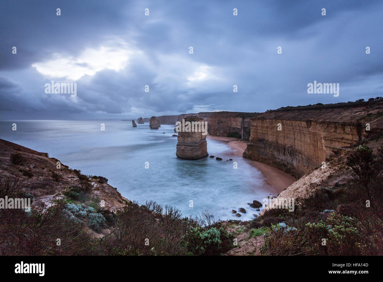 12 Apostles, Great Ocean Road, Australia - Stock Image