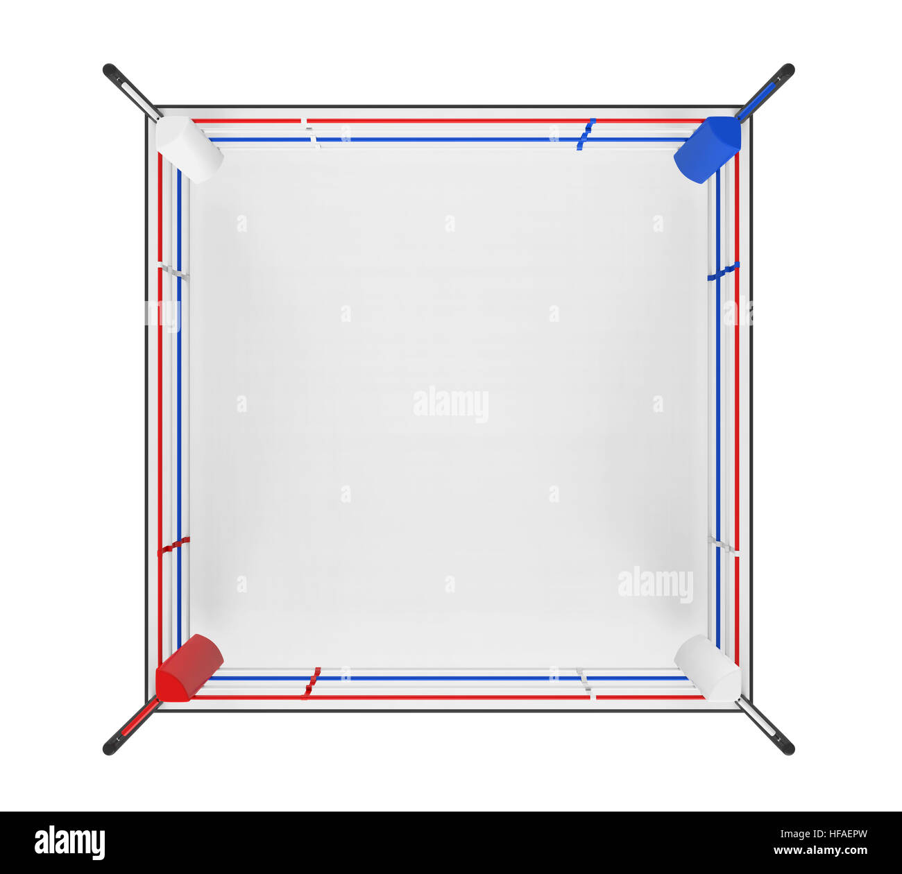 Boxing ring view cut out stock images pictures alamy boxing ring isolated stock image ccuart Images