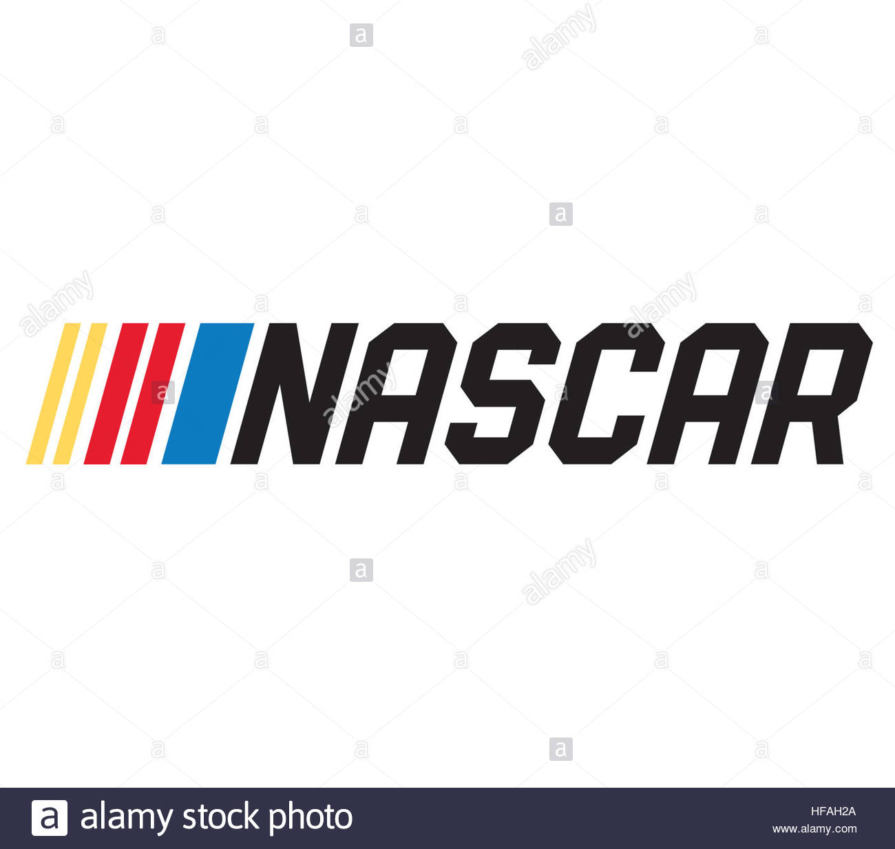 Nascar Icon Logo Stock Photo 129925330 Alamy