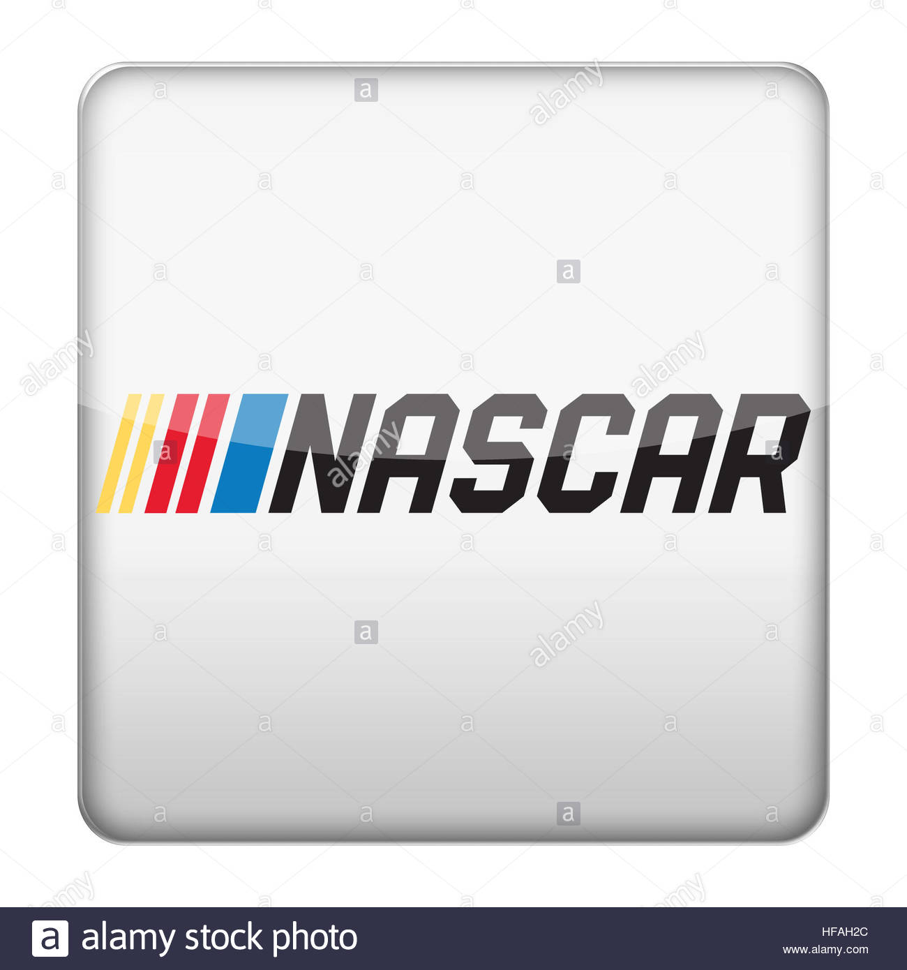 Nascar Logo Icon Stock Photo 129925332 Alamy