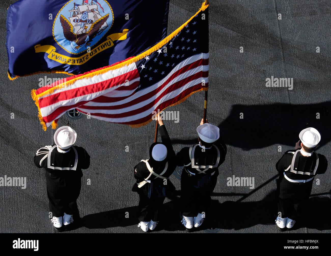 Uss John C Stennis Navy Pacific Ocean Stock Photos & Uss John C