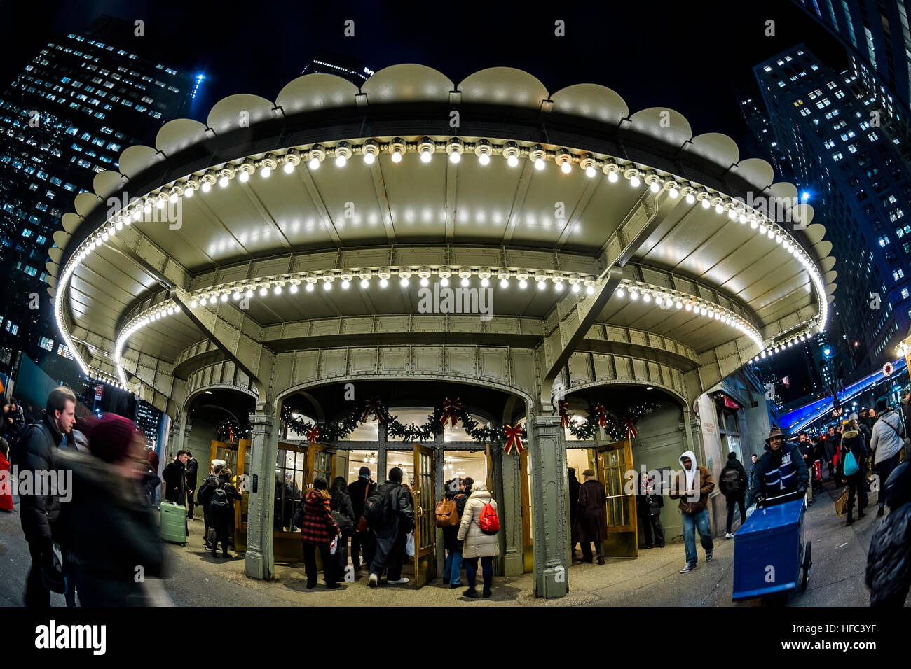 New York City, USA Christmastime at Grand Central Terminal ©Stacy Walsh Rosenstock - Stock Image