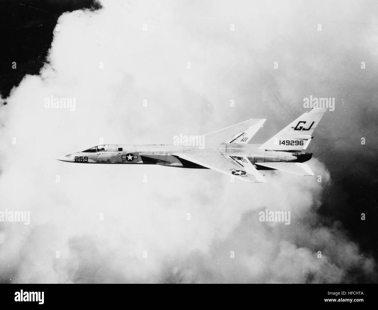 North American A-5A Vigilante of RVAH-3 in flight in May 1964 - Stock Image