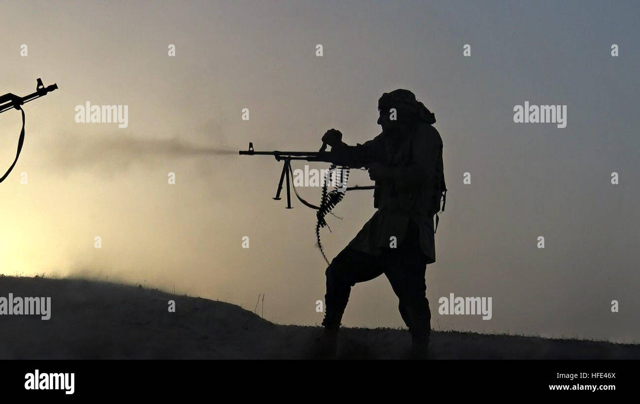 Islamic State Fighters Gun Stock Photos & Islamic State