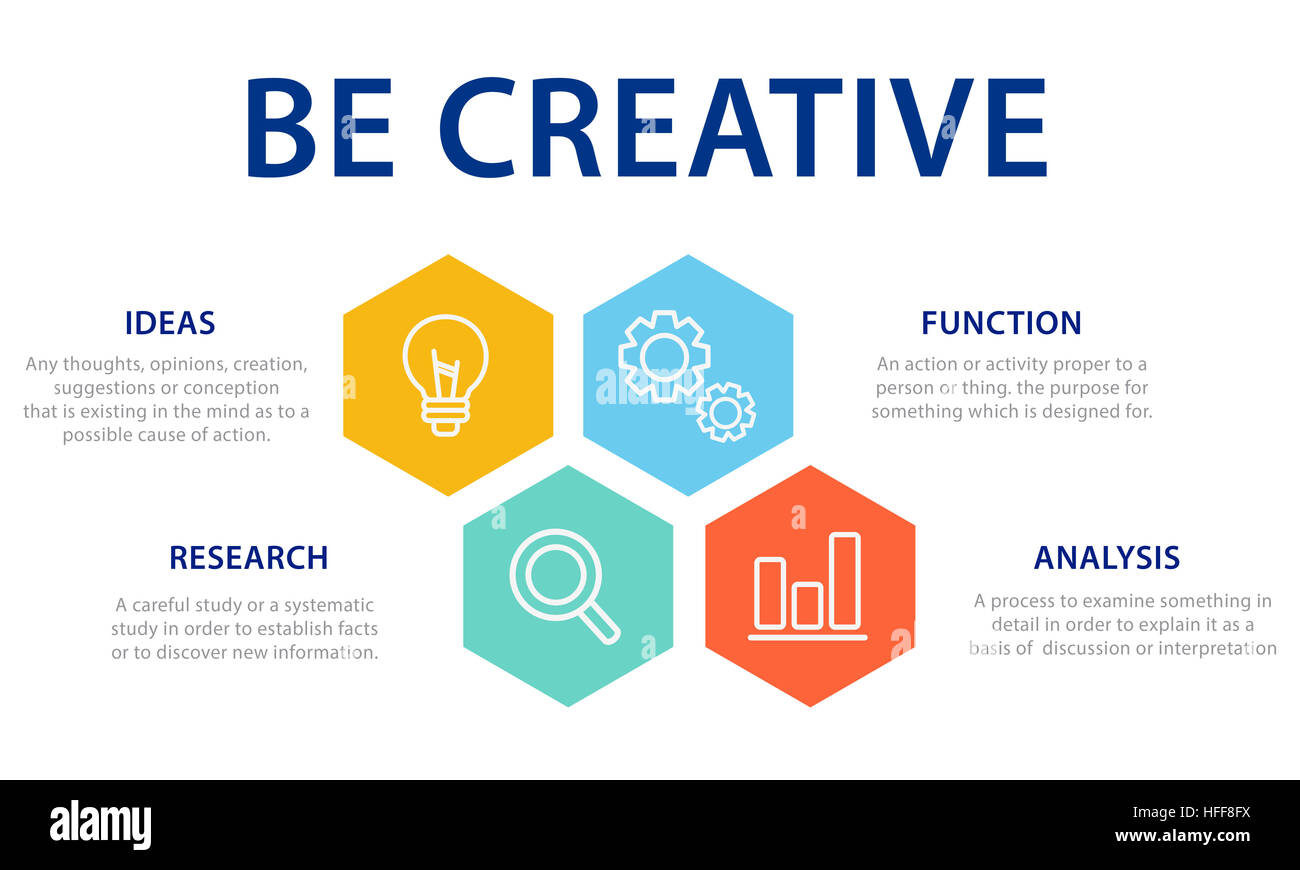 Fresh Ideas Inspire Creativity Concept - Stock Image