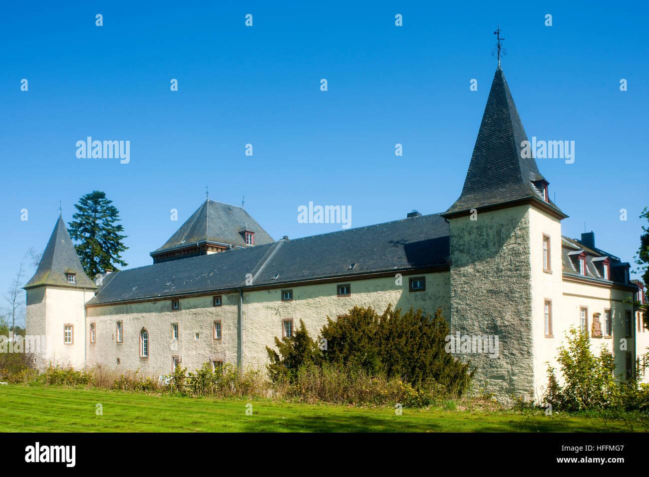 Schloss Schmidtheim - Stock Image