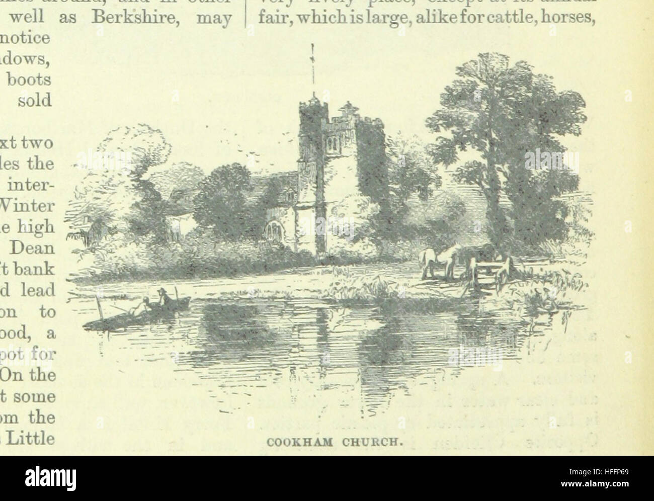 Image taken from page 132 of 'Up the River from Westminster to Windsor and Oxford; a descriptive panorama of - Stock Image