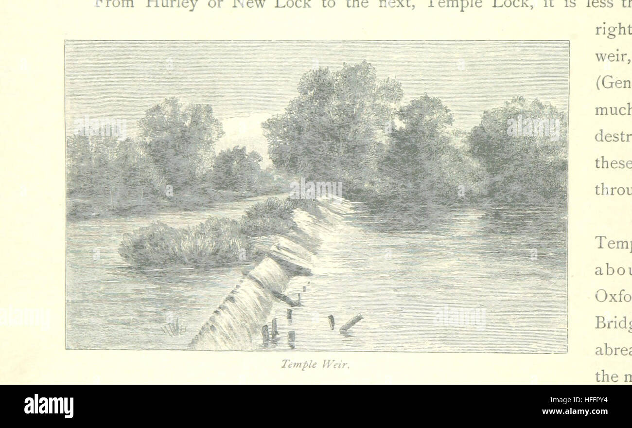 Image taken from page 134 of 'The Thames from its Source to the Sea ... Illustrated with ... engravings ... - Stock Image