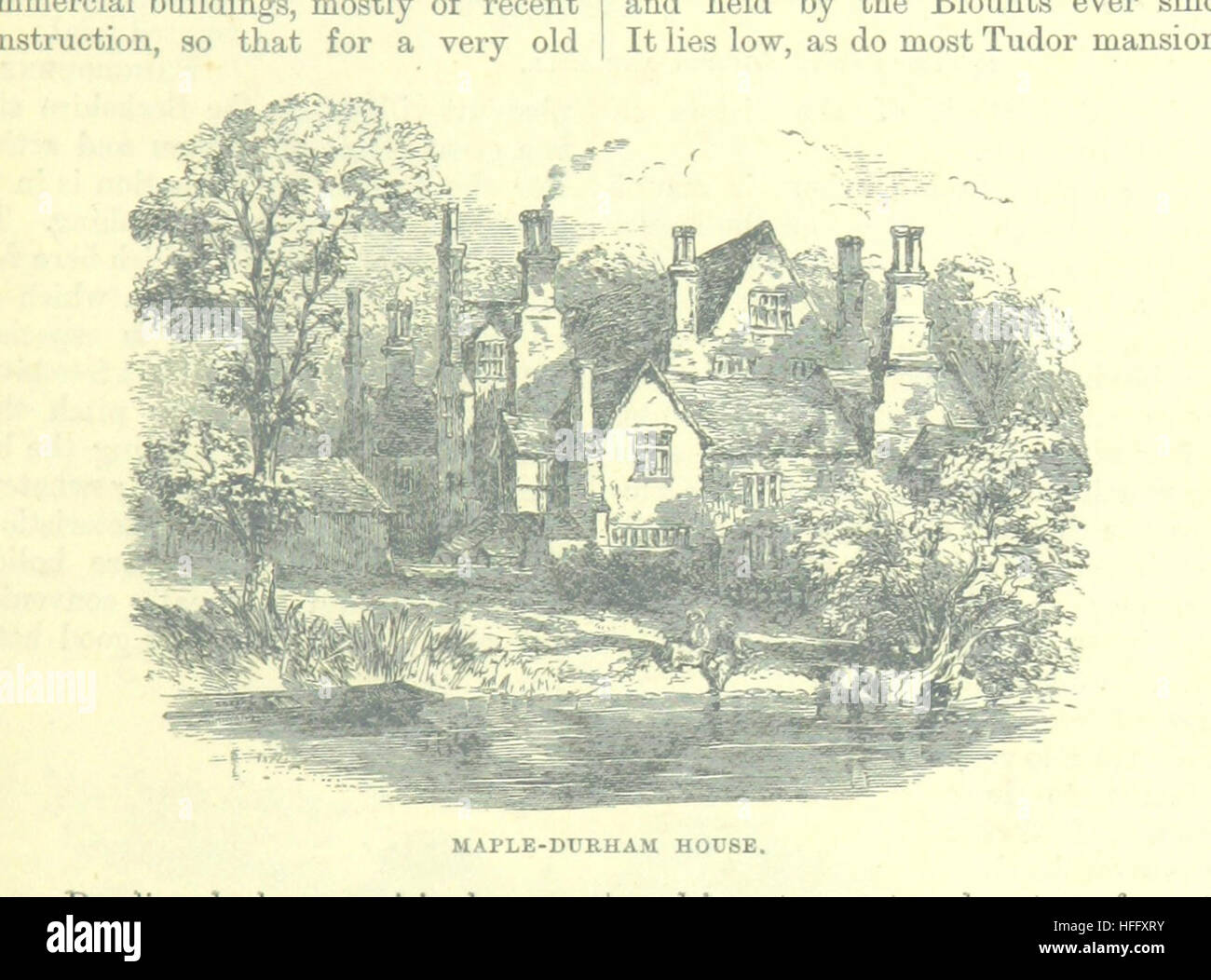 Image taken from page 143 of 'Up the River from Westminster to Windsor and Oxford; a descriptive panorama of - Stock Image