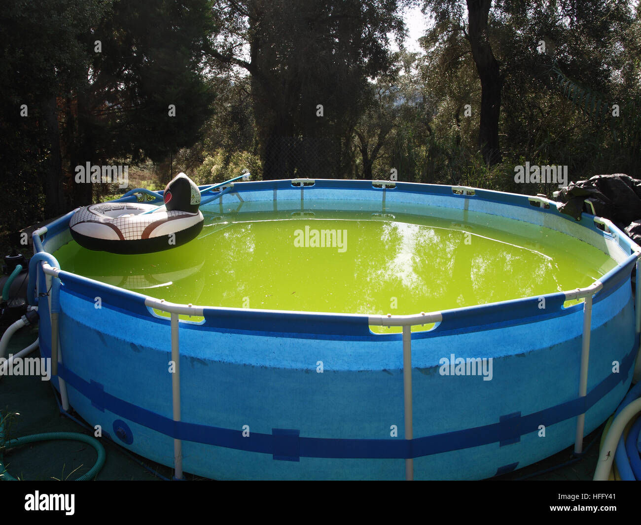 Stagnant Swimming Pool Stock Photos Stagnant Swimming Pool Stock Images Alamy