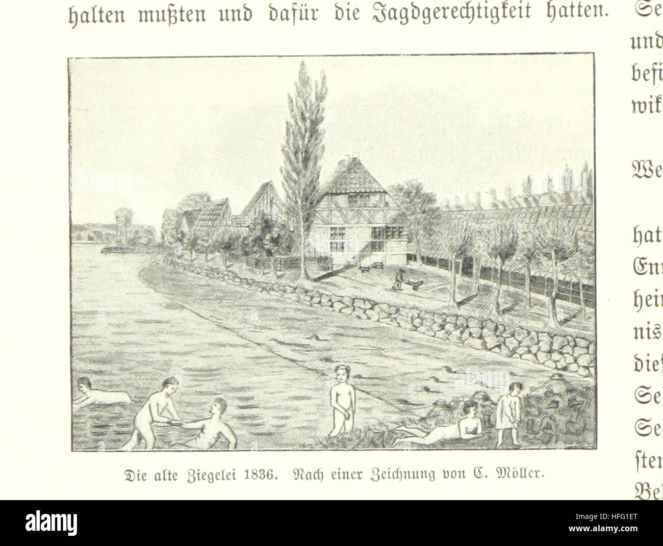 Image Taken From Page 150 Of U0027Alt Kiel In Wort Und Bild .